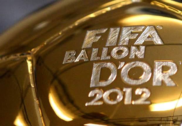 La entrega del Balón de Oro en directo en Goal.com