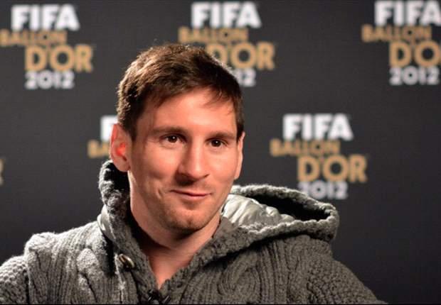 """Leo Messi: """"No creo que haya sido mi mejor año"""""""