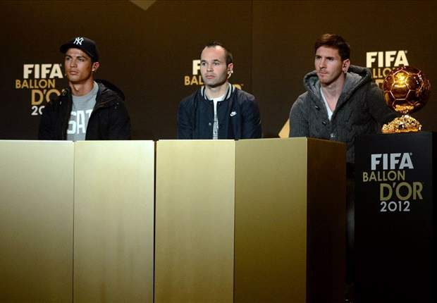 Ballon d'Or - Messi & Ronaldo, « pas rivaux »