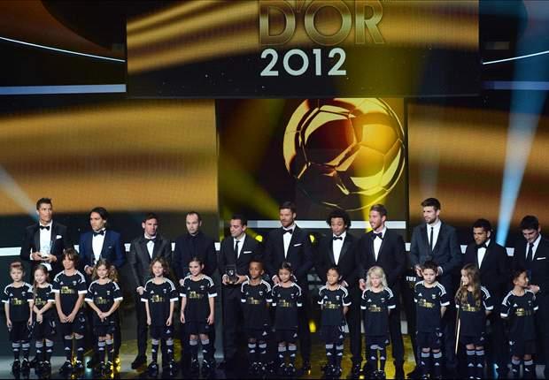 Messi, Cristiano y la Liga BBVA copan el once de la FIFA