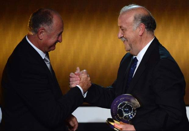 Vicente del Bosque fue elegido como mejor técnico del mundo en la última edición del premio.