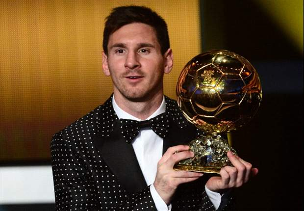 Messi's new adizero boots commemorate fourth Ballon d'Or win
