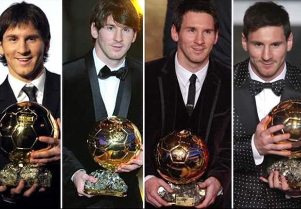 Messi, entre la cima y los ridículos