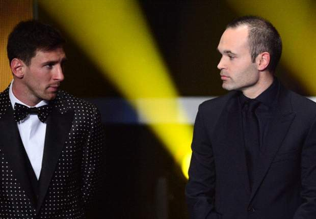 Iniesta: Messi should win a fifth Ballon d'Or