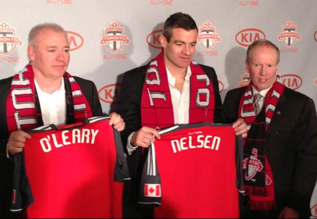 Toronto FC hires Ryan Nelsen as new head coach