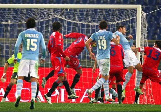 Lazio bekert door ten koste van Catania