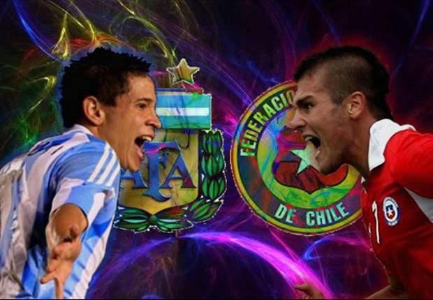 En Vivo: Argentina - Chile, seguí el Sudamericano Sub-20 en Goal.com