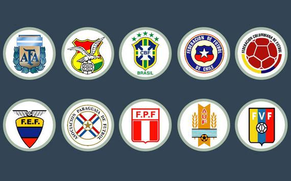Los equipos del Sudamericano Sub-20