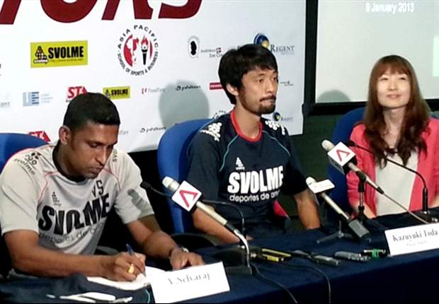 New SAFFC signing Kazuyuki Toda prepared to live up to expectations