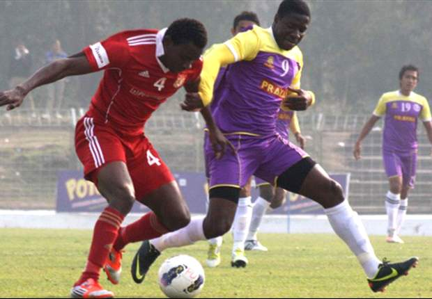 Prayag United 2-0 Pune FC: Bhowmick's wonder-strike and Ranti Martins late goal sinks the Red Lizards