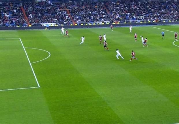 Tremendo e inexistente fuera de juego pitado a Cristiano Ronaldo... ¡Míralo!