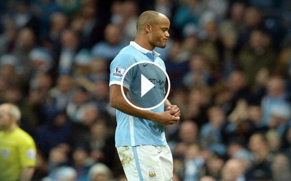 VIDEO: Kompany blow overshadows win