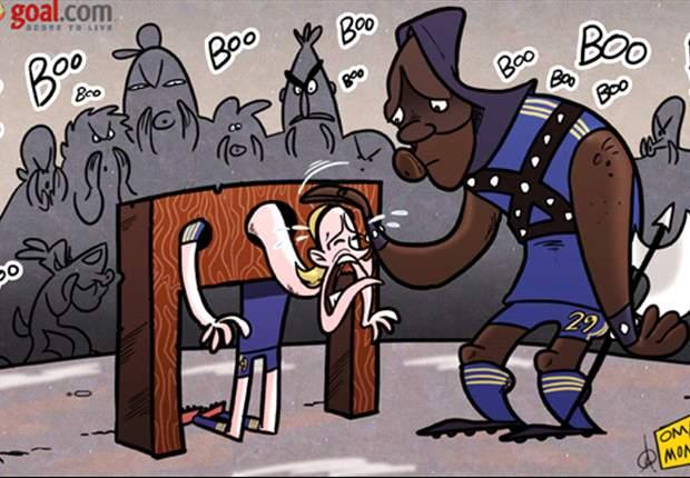 Cartoon - Torres, les fans veulent ta tête