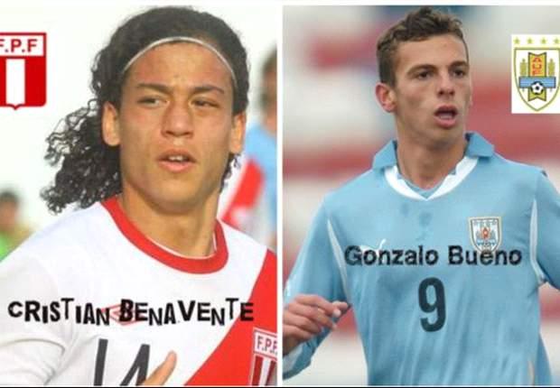 Perú y Uruguay van por el primer triunfo