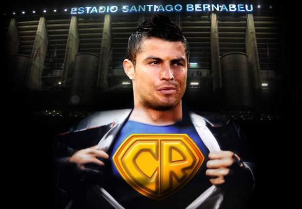 Cristiano Ronaldo se convierte en Superman