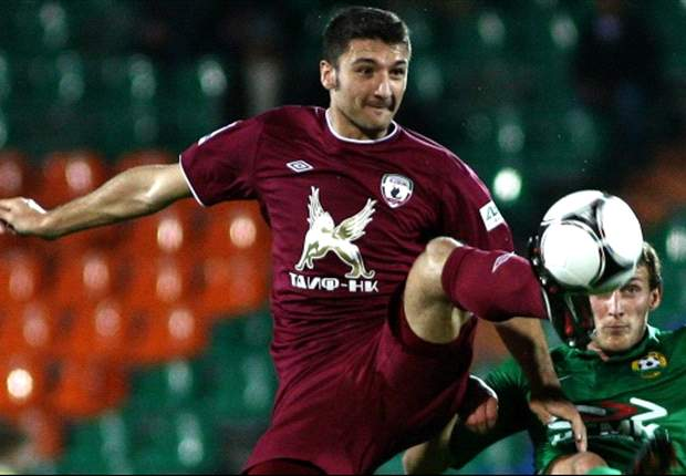 Spartak Moscow agree transfer for Rubin's Salvatore Bocchetti