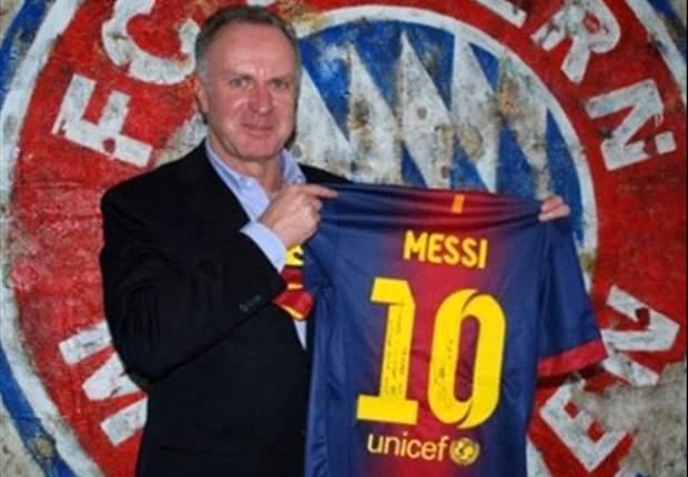ESP - Messi rend hommage à Müller
