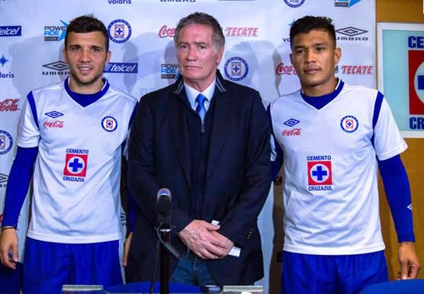 Teófilo y Bertolo no podrán debutar con el Cruz Azul