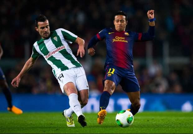 Barcellona-Cordoba 5-0: Villa e Sanchez trascinano i blaugrana ai quarti di Coppa del Re