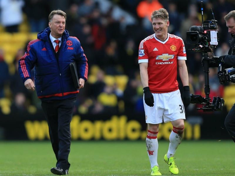 Schweinsteiger loving life at Manchester United