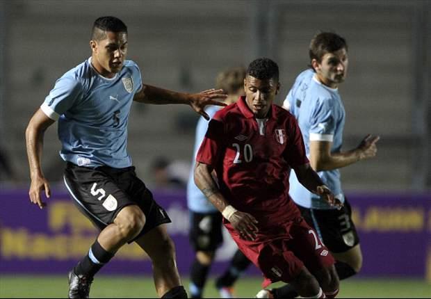 Uruguay 3-3 Perú: Espectáculo en San Juan