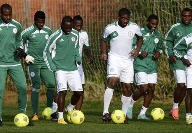 Moses relishes Eagles' first training session in South Africa