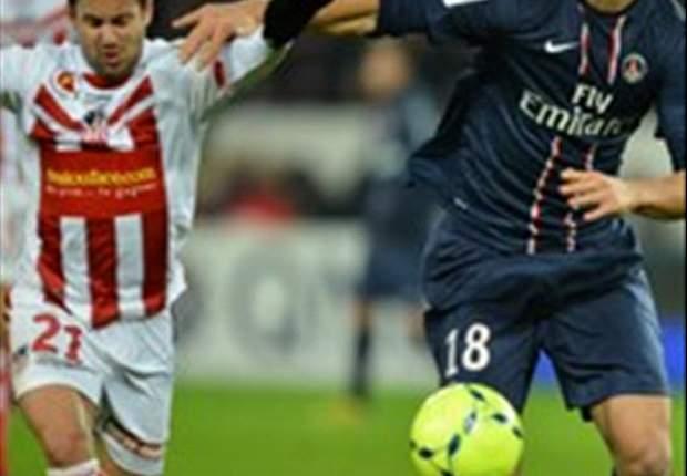 Ajaccio verrast Paris SG opnieuw