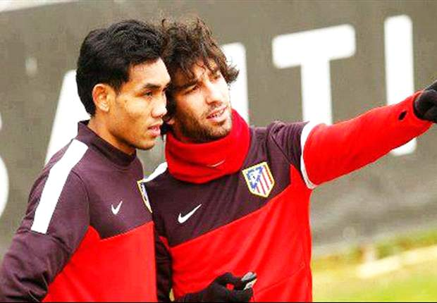 Teerasil Dangda enjoys his big break at Atletico Madrid trial