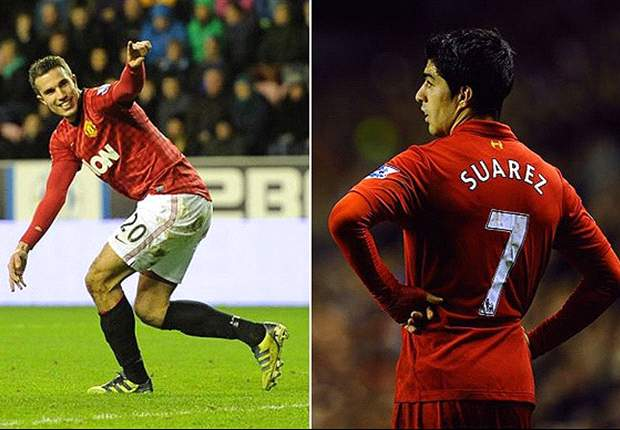 Robin van Persie and Luis Suarez, wondrous winger