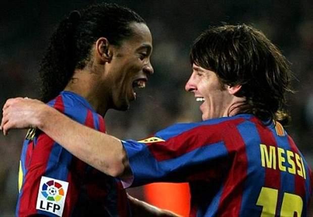 """""""Ronaldinho Contoh Bagi Lionel Messi"""""""