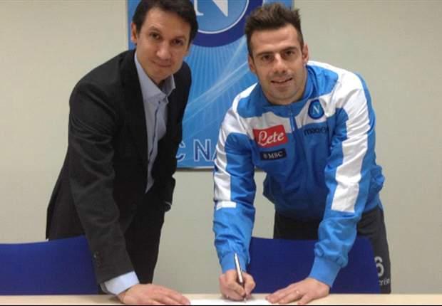 Emanuele Calaio Kembali Ke Napoli