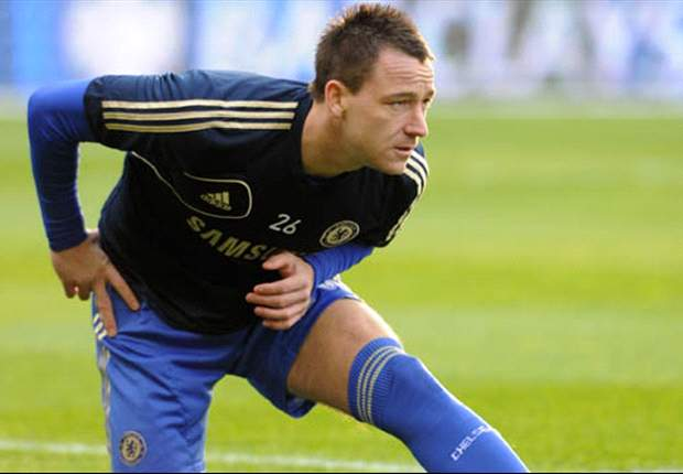 TEAM NEWS: Terry benched for Chelsea's clash with Liverpool