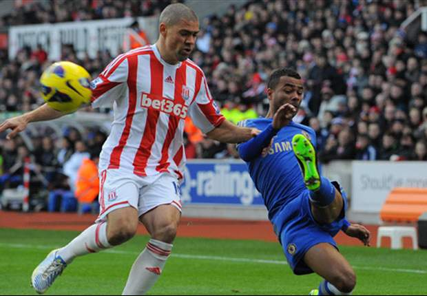 Stoke forward Walters thanks fans for support after double own goal