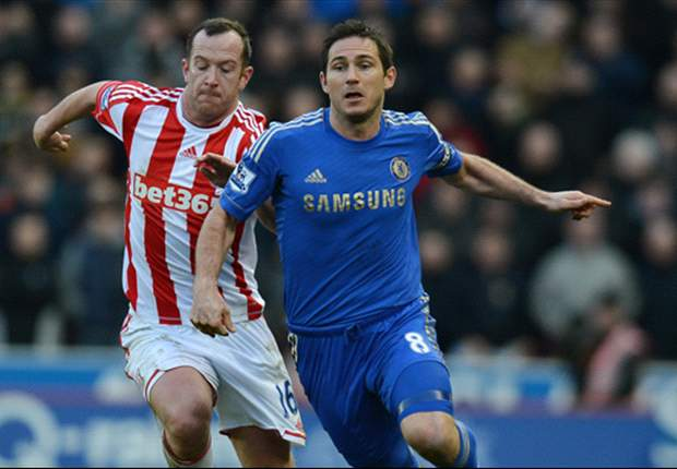 Lampard hails 'brilliant' Chelsea display in Stoke victory