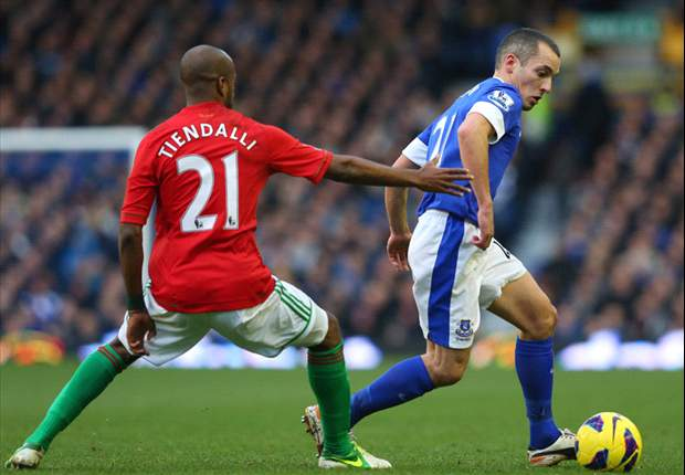 Everton 0-0 Swansea City: Goalless at Goodison as Toffees stay fifth