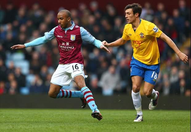 Aston Villa boss Lambert blasts referee Halsey after Southampton defeat