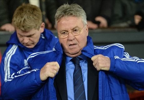Hiddink knocked over in tunnel brawl