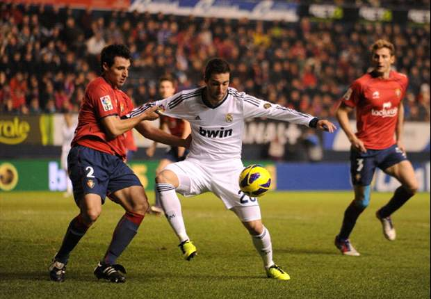 Osausna 0-0 Real Madrid: Kaka dismissed as Blancos stumble again on the road