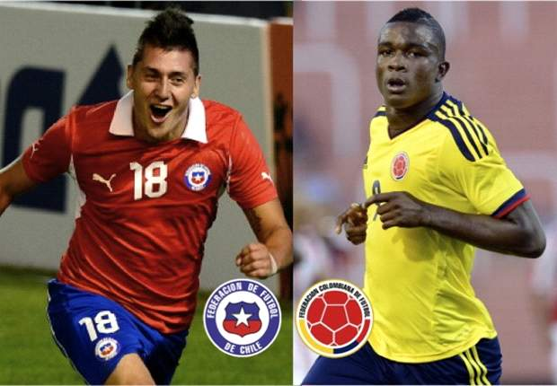 Colombia a ratificar ante Chile