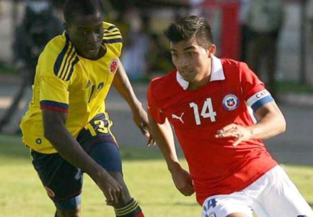 Chile imparable, vence a Colombia y es líder del Grupo A
