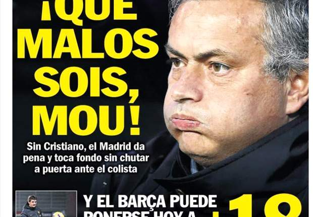 Sport se ceba con Jose Mourinho
