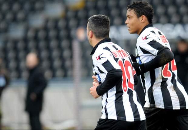 Serie A, 20ª giornata: La Juve impatta a Parma, Lazio a -3 dalla vetta. Vincono Udinese, Napoli e Cagliari, Roma ko a Catania
