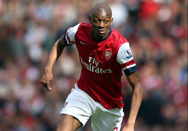 Diaby: Arsenal not taking Reading clash lightly