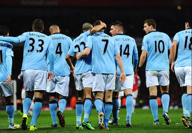 Arsenal-Manchester City 0-2: Dominio dei Citizens, Gunners mai realmente in partita
