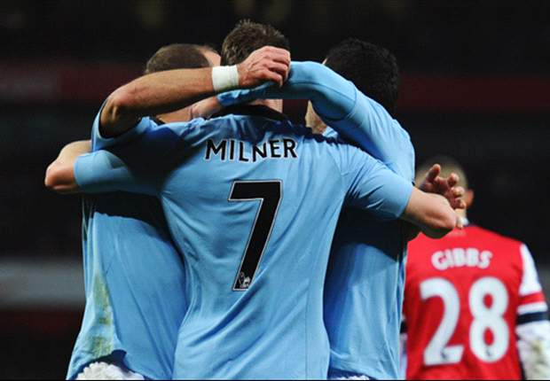 Manchester City bezwingt FC Arsenal souverän mit 2:0