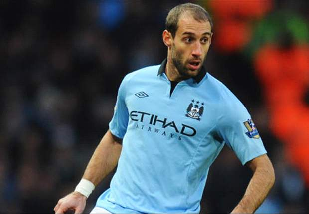 Manchester City given Zabaleta injury boost