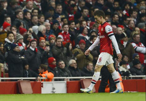 Arsenal goalscorer Koscielny bemoans first-leg loss against Bayern Munich