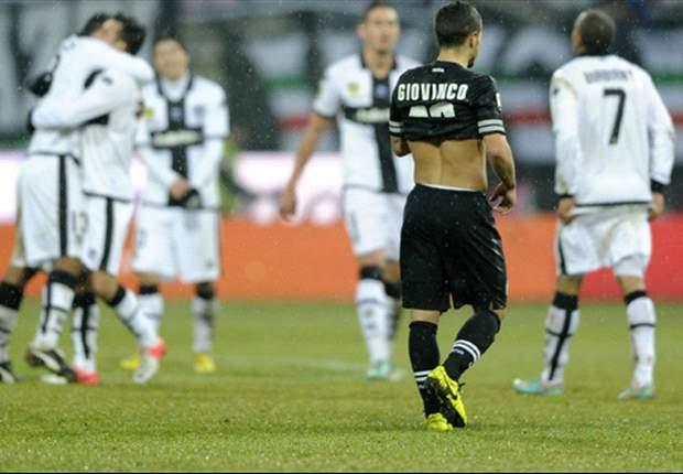 """La Juventus è in affanno, ma Bonucci avverte le rivali: """"Siamo primi e vogliamo rimanerci"""". E Matri non ci sta: """"Contro il Parma meritavamo di più"""""""