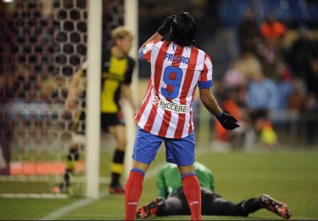 """Merengues vs Colchoneros, il dg dell'Atletico promette: """"Come Aguero, Falcao non andrà al Real Madrid"""""""