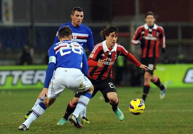 Sampdoria 0 x 0 Milan: Rossonero joga pouco e perde chance de subir na Serie A